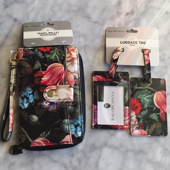 ade7a1599c Jessica McClintock Flowers Travel Package New. NWT